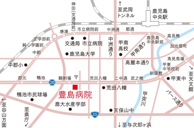 豊島病院マップ
